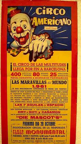 circo-americano-barcelona-1961
